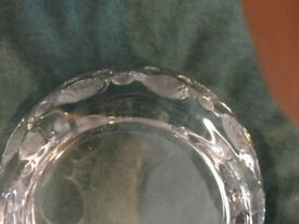 LALIQUE ASHTRAY COMPLETE SET COLLECTORS PIECES 100% GENUINE TOKYO CRYSTAL DESIGN