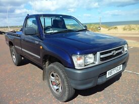 toyota hilux 2.4td 4wd 34500 miles