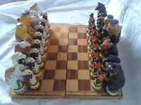 Reynard the Fox Chess Set