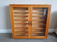 REMPLOY PINE WALL DISPLAY UNIT / CABINATE