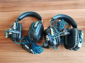 Assorted Element Gaming Headset for PS4 and XBOX
