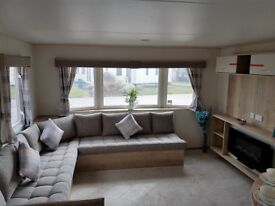 ABI New Horizon Exclusive DG Caravan HAVEN 3 bedrooms 36x12 Site Fees Included Filey Scarborough