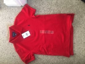 Ralph Lauren red polo size 5 bnwt