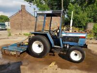 Iseki 4270 4x4 compact tractor with a Fleming topper