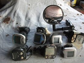 MILEAGE METERS 7, & 1 MIRROR JOB LOT ONLY £5,