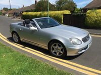 Mercedes SLK230 mint condition drives amazing long MOT
