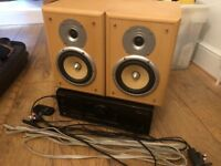 Technics amp and TDL speakers