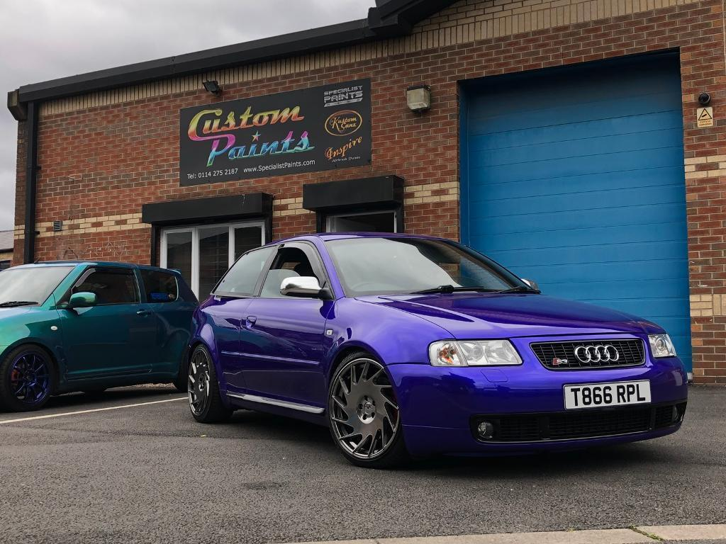 1999 audi s3 8l quattro purple blue in scunthorpe. Black Bedroom Furniture Sets. Home Design Ideas