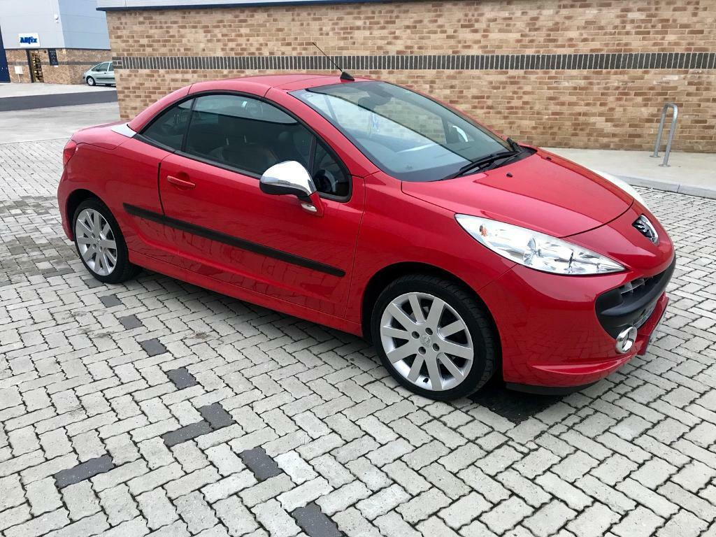 **SOLD SUBJECT TO COLLECTION** 2007 '07' Peugeot 207 cc GT - Low Miles