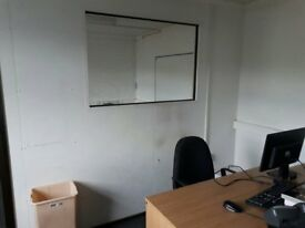 12 x 48 foot Portacabin with large office area and smaller office. Excellent Condition, £5000 ovno.