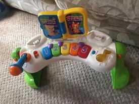 Baby keyboard activity toy