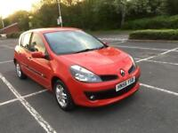 2007 RENAULT CLIO 1.4 PETROL 5 SPEED MANUAL, LONG MOT 2 OWNERS.