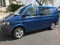 VW Kombi transporter van (genuine) 5 seats metallic blue camper day van combi NO VAT