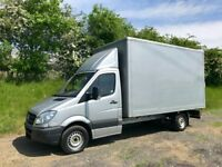 MERCEDES SPRINTER 313 CDI DIESEL 14FT BOX VAN 2013 13-REG FULL SERVICE HISTORY DRIVES EXCELLENT