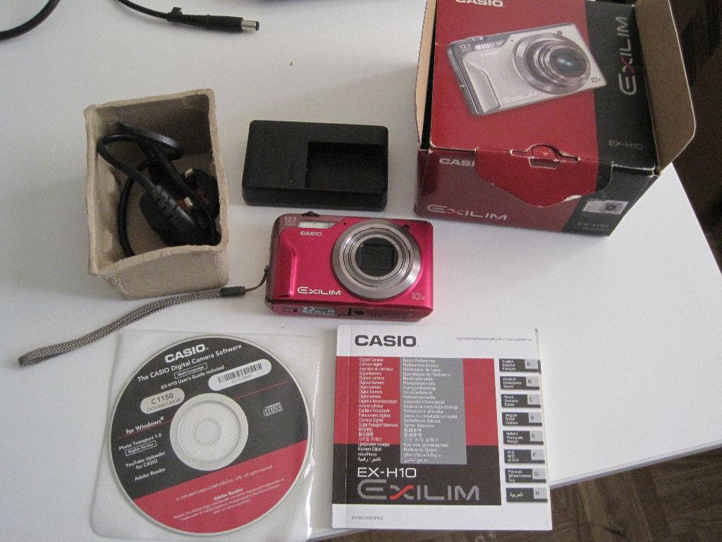 Casio exilim ex-h10 digital camera ex-h10bk b&h photo video.