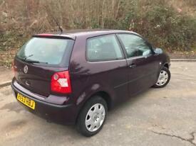 VW polo 1.2 3door rare colour