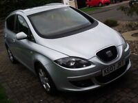 2007 SEAT ALTEA XL TDI 140 DSG NEAR FULL HISTORY LONG MOT AUTO LIKE GOLF PLUS