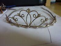 Tierra, silver, metal, see photo, wedding, prom