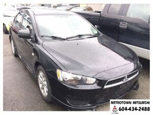 2011 Mitsubishi Lancer SE; Local BC vehicle! LOW KMS!