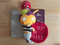 Mamas & Papas Baby on Board Lotty Ladybird BN