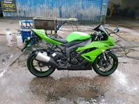 ZX6R 2012. low miles