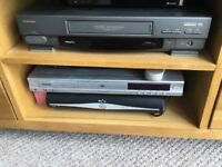 Toshiba video player/recorder and remote