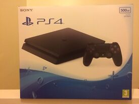 Playstation 4 Slim (brand new in box, sealed) 500GB