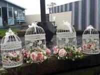 Decorative Bird cages x 20