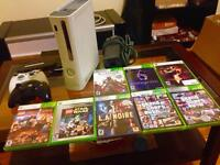 360 plus 8 games must sell!