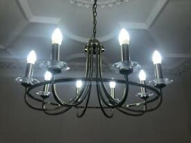 beautiful large modern chandelier