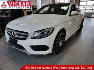 2015 Mercedes-Benz C-Class 400/Drivers Assistant Package/Navigat