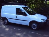 VAUXHALL COMBO 2008 1.3 CDTI DIESEL ECOTEC WITH FULL SIZE HEAVY DUTY ROOF RACK 12 MONTHS MOT
