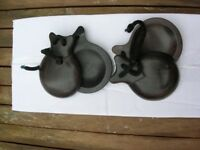 Pair of Official Spanish Castanets, Never Used, with Instructions.