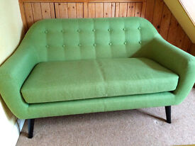 2 seater sofa, immaculate condition, from Made