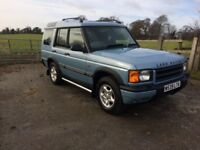 Landrover discovery td5 7 seats auto