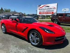 2017 Chevrolet Corvette 3LT!!! CONVERTIBLE!! PERFORMANCE EXHAUST
