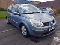 NEED GONE TODAY QUICK SALE Renault megane scenic 1.6 low mile mint condition