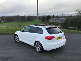 Audi A3 S line 2008 *Panoramic Roof*SportBack*DSG*Leather Seats*