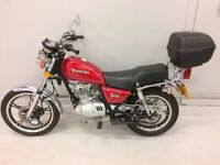 Suzuki GN125 2005 Red Immaculate Condition and Very Low Mileage