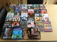 Large Job Lot DVD Bundle (40 DVDs/Box Sets) - TV and Films - Ideal for Car Boot Resale