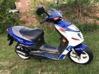 Suzuki Ay katana r 50cc 2 stroke scooter moped aprilia sr aerox Speedfight nrg gilera