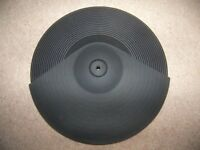 """Alesis DM 14"""" Dual Zone Ride Cymbal Pad for Electronic Drum Module."""