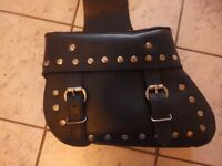 Leather Motorbike Panniers