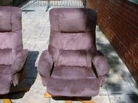 Swivel Reclining Chairs & Footstools
