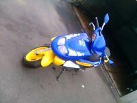TGB 125cc motorbike scooter taiwan golden bee 2008