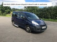 TAXI BUS 2009 citreon dispatch diesel , TRADE IN WELCOME