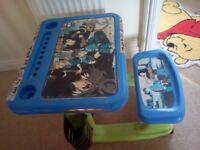 Blue kids desk