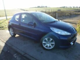 PEUGEOT 207 1.6 SPORT 3d AUTO 118 BHP 6 Month RAC Parts & Labour Warranty