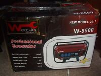 New and Boxed Wurzburg W-8500 4 Stroke Power Generator