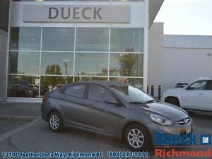 2014 Hyundai Accent Accident Free, BC Vehicle